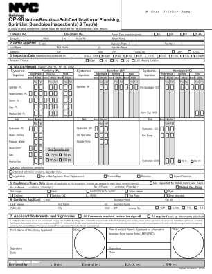 Op 98 Form