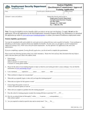 Wa Approved Training 2013 2019 Form