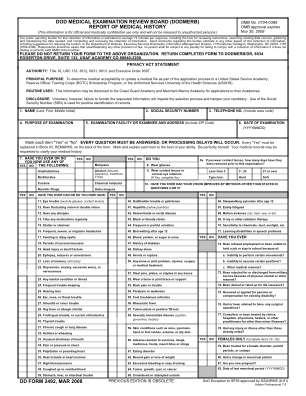 Dd Form 2492