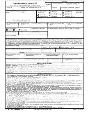 Af Form 988
