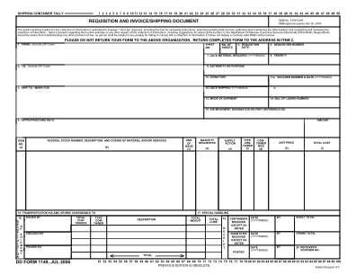 Form 1149 2006