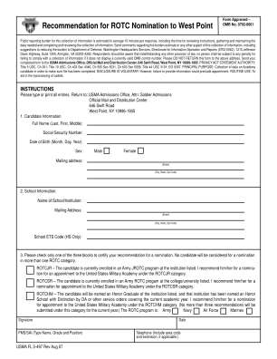 Usma Fl 5 497 Form