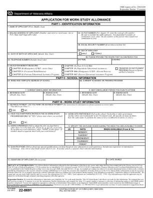 Va Form 22 8691 2012 2019
