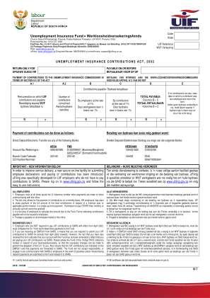 Ui7 Payment Advice Form