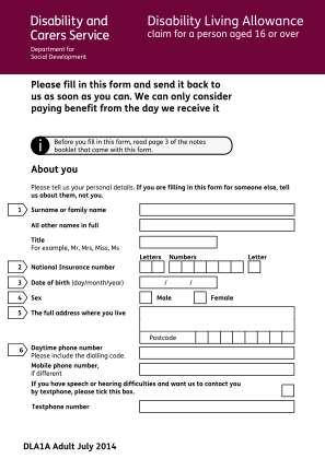 Dla1a 2014 2019 Form