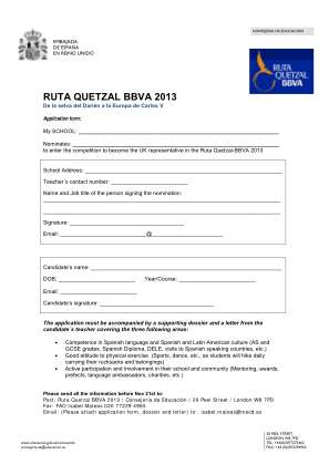 Ruta Quetzal Bbva 2013