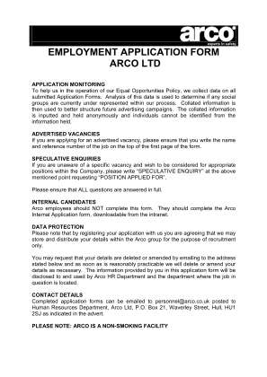 Arco Study Guide Form