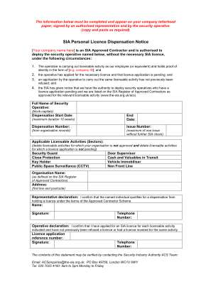 Sia Card Printing Template Form