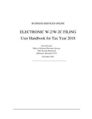 W2 W2c 2018 2019 Form