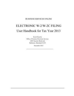 W2 W2c 2013 Form