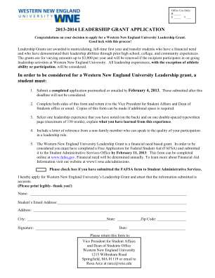Wne Leadership Grant Form