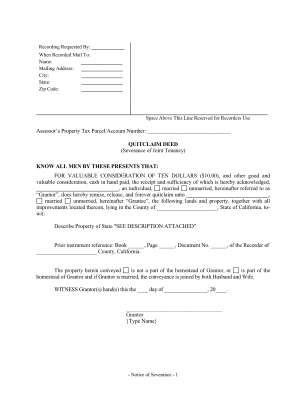 Joint Tenancy Form