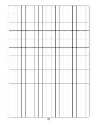 Blank Graph Print Form