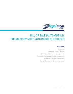 Sale Promissory Form
