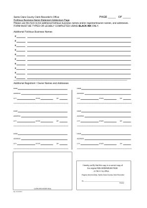 FBN Form Addendum For Sccgov