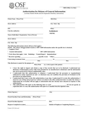 Osfmg Authorization