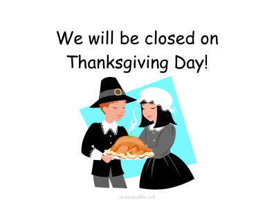 Holiday Closed Signs Printable Form