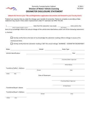 Tc 96 204 Ky Form