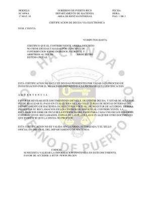 Dh Sc6096a Certificaci N De Deuda De Hacienda Prgov