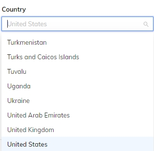 select-countries